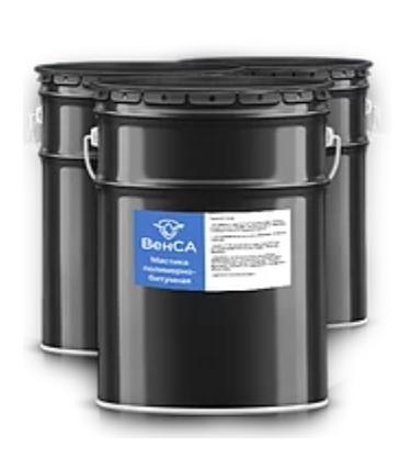Гидроизоляционная полимерно-битумная мастика